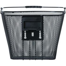 Basil Bremen Front Wheel Basket with Ahead-Stemholder KF black